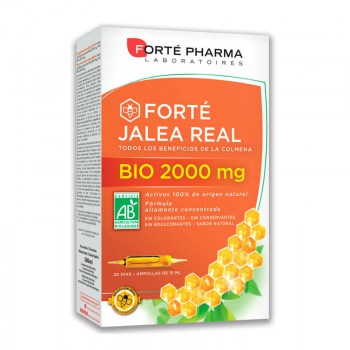 forte pharma jalea real 2000 mg 20 ampollas