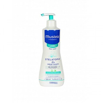 mustela stelatopia gel bano 500ml