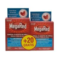 Megared Omega 3 Aceite de Krill 60 + 20 cápsulas